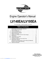 tecumseh lv195ea manuals rh manualslib com tecumseh model lv195ea manual tecumseh lv195ea engine manual