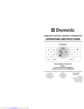 Dometic Capacitive Touch Thermostat Troubleshooting