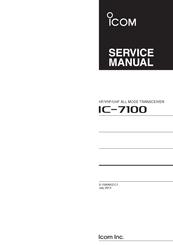 icom ic 7100 service manual pdf download rh manualslib com Icom IC-7100 Back Icom IC-7100 Car