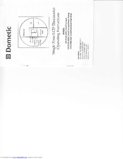 Dometic single zone lcd thermostat manuals sciox Image collections