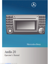 mercedes benz audio 20 manuals rh manualslib com mercedes audio 20 aps manuel audio 20 mercedes manual pdf