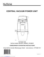 nutone vx550cc manuals