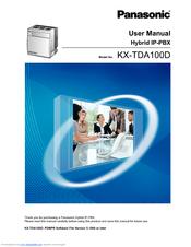 panasonic kx tda100d manuals rh manualslib com panasonic kx-tda100d user manual panasonic kx tda100d installation manual