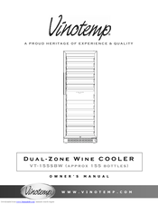 vinotemp vt 140 ts manuals rh manualslib com VT200 Parts Wine Cooler Replacement Parts