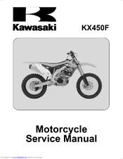 KAWASAKI KX450F SERVICE MANUAL Pdf Download