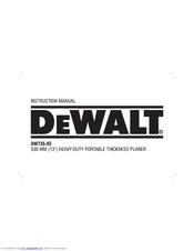 dewalt dw735 xe manuals rh manualslib com dewalt dw733 planer owners manual dewalt dw735 user manual