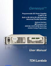 Genesys GEN60-55 Manuals