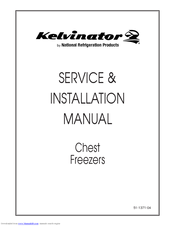 Kelvinator 4DF-13 Manuals on