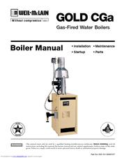 Weil-mclain GOLD CGa Manuals