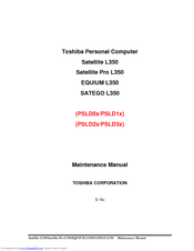 toshiba satellite l350 maintenance manual pdf download rh manualslib com toshiba satellite l350 repair manual toshiba satellite l350 service manual pdf