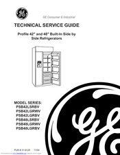 GE PROFILE PSB42LSRBV TECHNICAL SERVICE MANUAL Pdf Download. on