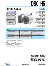 sony dsc h5 user s guide manuals rh manualslib com sony dsc h5 manual español sony dsc hx5 manual