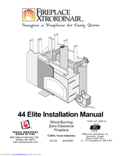 Fireplacextrordinair 44 Elite Installation Manual Pdf Download