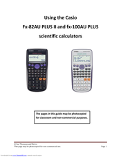 Casio fx-7000gb graphic scientific calculator vgc boxed manual.