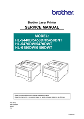 Brother HL-6180DW Service Manual