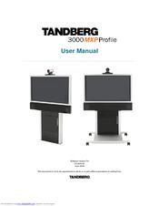 tandberg 3000 mxp profile manuals rh manualslib com Tandberg 770 MXP Tandberg 990 MXP