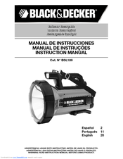 Black & Decker BSL189 Instruction Manual