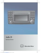 mercedes benz audio 20 manuals rh manualslib com mercedes audio 20 manual 2011 mercedes audio 20 manual 2011