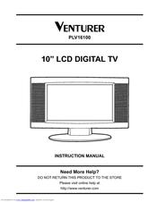 venturer plv16100 manuals rh manualslib com venturer lcd tv manual venturer under cabinet tv manual