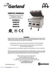 Garland MWG3W Manuals on