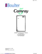 Camray 5 manual.
