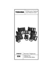 toshiba strata cix dp5000 series manuals rh manualslib com toshiba strata cix dp5000 telephone manual toshiba strata cix/ctx manual