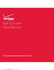 Novatel Verizon 4g Lte Broadband Router With Voice T1114