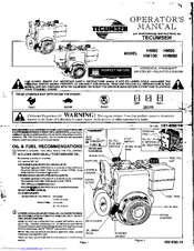 tecumseh hm100 manuals rh manualslib com tecumseh hm100 parts manual tecumseh hm100 manual pdf