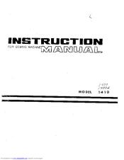 singer 1410 manuals rh manualslib com User Manual Operators Manual