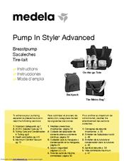 medela pump in style advanced instructions manual pdf download rh manualslib com Medela Hand Pump Medela Carrying Bag