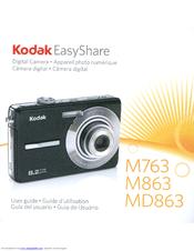kodak m863 easyshare digital camera manuals rh manualslib com kodak easyshare m1033 manual kodak easyshare m1033 software download