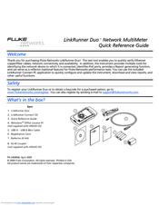 fluke linkrunner duo manuals rh manualslib com fluke network linkrunner pro manual fluke network linkrunner pro manual