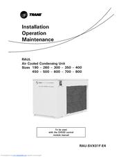 trane 500 manuals rh manualslib com Trane Chillers Water Cooled Trane Chillers Water Cooled