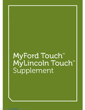 ford my touch supplement manual pdf download rh manualslib com sync myford touch manual MyFord Touch Radio and Map