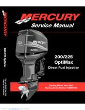 Mercury 200 Optimax Manuals