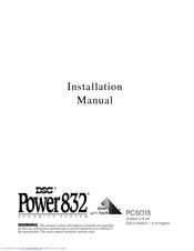 dsc power 832 manuals rh manualslib com dsc power 832 pc5010 installation manual dsc power 832 installation manual pdf