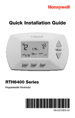 honeywell rth6400 series manuals Air Conditioner Thermostat Wiring