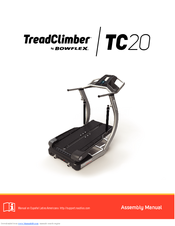 bowflex treadclimber tc20 assembly manual pdf download rh manualslib com User Guide Icon User Guides Samples