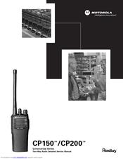 Motorola CP200 Manuals