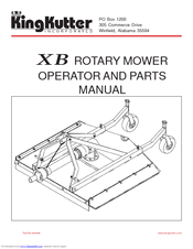 Kingkutter XB Manuals
