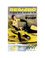 SEA-DOO 1997 SP OPERATOR'S MANUAL Pdf Download