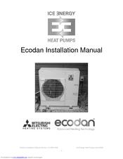 mitsubishi electric ecodan manuals rh manualslib com mitsubishi ecodan 14 kw installation manual mitsubishi ecodan 5kw installation manual