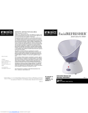 homedics fac 2 manuals rh manualslib com homedics ellia user manual homedics air purifier user manual