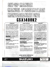 Suzuki GSX1400K2 Manual