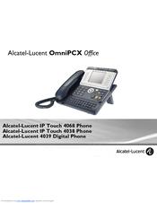 Alcatel-lucent 4039 manuals.