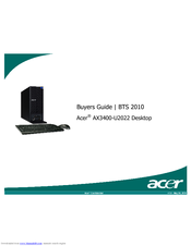 Acer 2010 Buyer's Manual