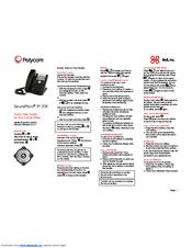 polycom soundpoint ip 335 manuals rh manualslib com polycom soundpoint ip 335 quick user guide polycom ip 335 quick start guide