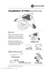 polycom soundstation ip 6000 manuals rh manualslib com polycom soundstation ip 6000 manuel polycom soundstation ip 6000 user manual