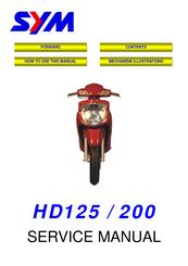 sym vs150 manuals rh manualslib com Sym Motorcycles Joyride 150