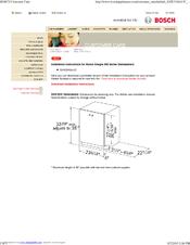 bosch shu43c manuals rh manualslib com Bosch Model Shx46l bosch shu43c service manual